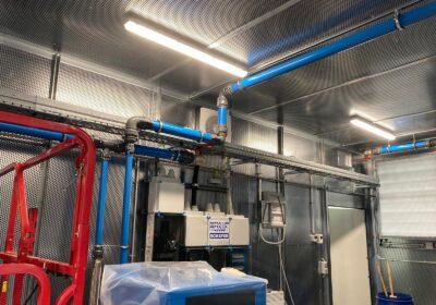 Pressluft Schäfer verwendet AIRpipe in ihren Containern