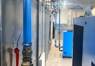 Pressluft Schäfer verwendet AIRpipe in seinen Druckluftcontainer